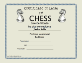 Certificado de Logro en Chess
